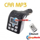 Car MP3 Player Bluetooth Phone FM Transmitter for  SD/MMC/USB