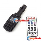 Car kit MP3 Player Foldable FM Transmitter for SD/MMC/USB/CD