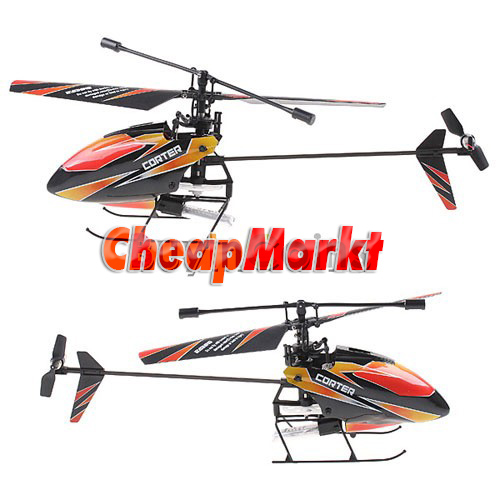 4CH 2.4GHz Mini Radio Single Propeller RC Helicopter Gyro V911 RTF Outdoor