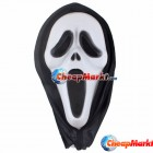 Ghost Scream Face Mask Costume Party Dress Halloween
