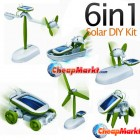 Solar DIY Educational Kit, 6 in 1