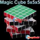 5x5x5 Colorful Rotating Original 3D Magic Cube Puzzle Kid Fun IQ Toy Gift