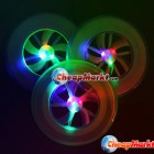 Hot Colorful Spin LED Light Outdoor Toy Flying Saucer Disc Frisbee UFO Kid Toy