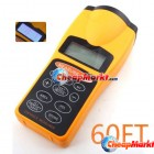 LCD Ultrasonic Laser Pointer + Distance Measurer 60FT