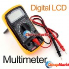 Digital LCD Multimeter Voltmeter Ohm Volt Tester 830 XL