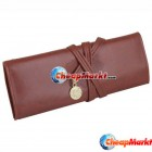 Twilight New Moon Leather Make up Cosmetic Pen Pencil Case Pouch Purse Bag