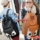 Cute Naughty Vintage Little Fox Backpack Shoulder Bag Schoolbag Travel Student