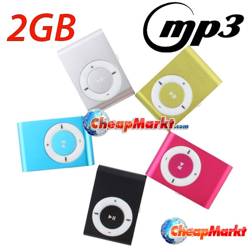 Silm Metal Mini MP3 Player, 2 GB