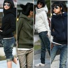 Long Sleeves Gloves Finger Cuff Warm Coat Jacket Outwear Sweater Top