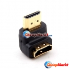 Premium 1.3 Gold HDMI Male to Female Converter Adapter