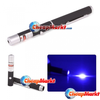 5mW 405nm Violet Light Purple Blue Ray Beam Laser Pointer Point Pen