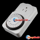 24 Hours Mechanical Timer Power Point Switch 110V US