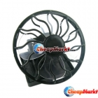 Clip-on Solar Energy Cell Travel Cooling Cool Mini Fan