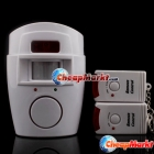 Wireless IR Infrared Security Alarm Alert w/ 2 Remote